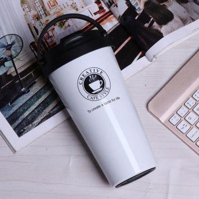 Portable Coffee Mugs For Large Capacity Stainless Steel water Cup Couple Portable Teacup