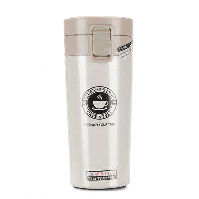 380ml High Quality Double Wall Stainless Steel Vacuum Thermo Cup Coffee Tea Milk Travel Mug