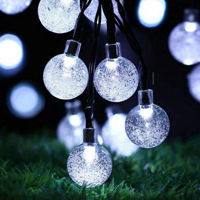 Solar String LED Light Bubble bubble Decorative Lights For Christmas Tree Home Party Decoration