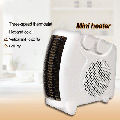 Mini Portable Electric Heater Heater Household Heater Both Cold And Warm Adjustable Thermostat