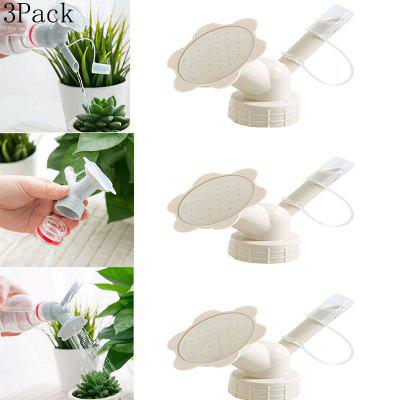3Pack Two-in-one Plastic Shower Watering Nozzle Watering Device Garden Irrigation Tool