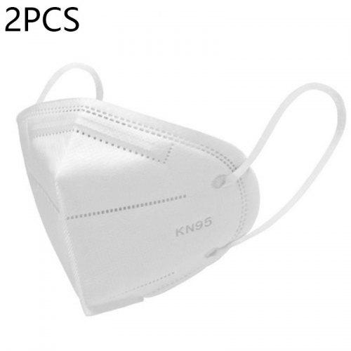 2 15 20 PCS Dust And Anti-Fog KN95 Mask Filter Non-Woven Anti-Fog Filter Vertical Folding Mask - 2PCS