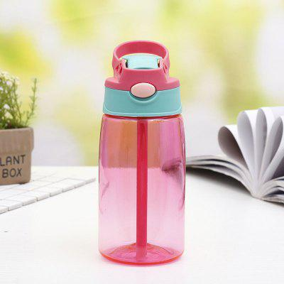 480ML Children Portable Straw Cup Boy Girl Child Outdoor Supplies Juice Kettle