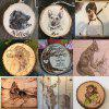 44pcs wood Burning Pyrography Pen Kit Adjustable Temperature Soldering iron with  carving stencils