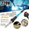 110 120V 60W Electric Soldering Iron and Wood Burning kit Pyrography Craft Tool  for Woodworking
