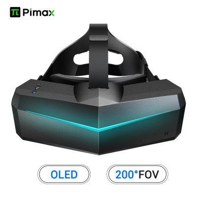 Pimax 5K XR OLED VR Virtual Reality Headset with Wide 200 degree FOV.  Dual 2560x1440p OLED Panels
