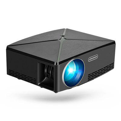 AUN MINI Projecteur C80 Résolution 1280x720 LED Beamer HD pour Home Cinema Version Android en option