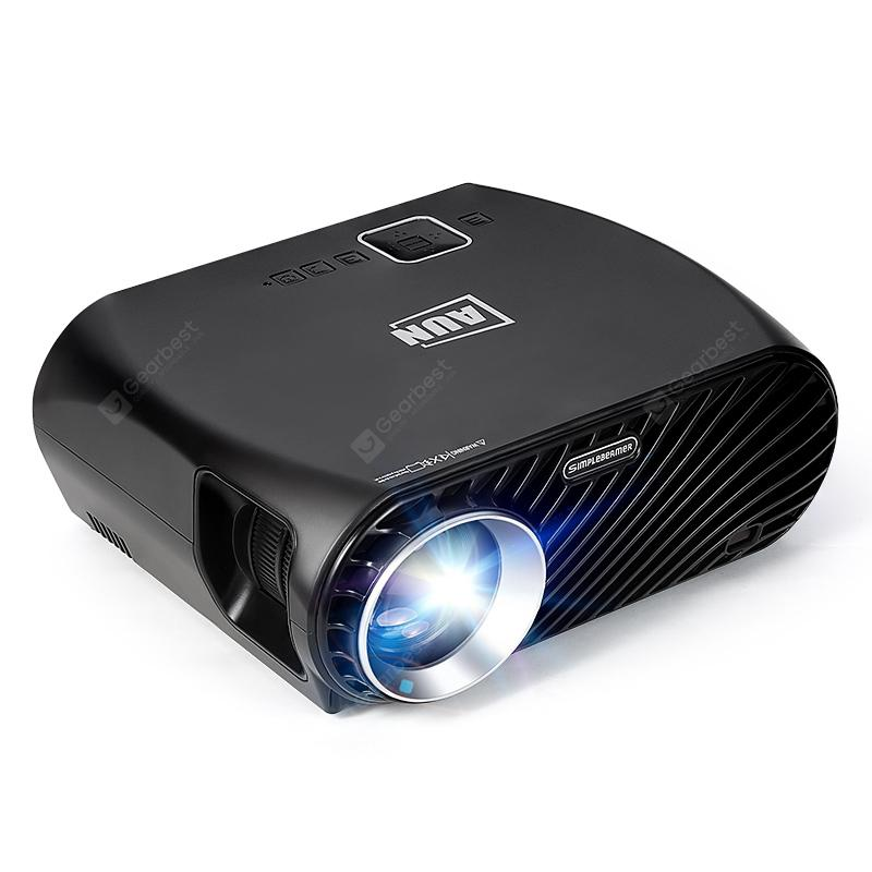 AUN Projector GP100 1280x768 Resolution 3200 Lumens Beamer Suppor 1080P Full HD LED TV Home Cinema