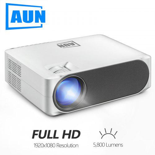AUN Full HD Projector 1920x1080P AC3 Decoding LED MINI Projector For Home Cinema AKEY6