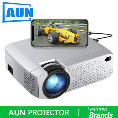 AUN D40W MINI Projector Support IOS Android Phone Screen Mirroring Display for 720P home cinema