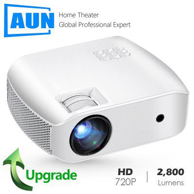 AUN MINI Projector F10UP 1280 720P Android LED Proyector for 1080P 3D Home Cinema 2G 16G WIFI