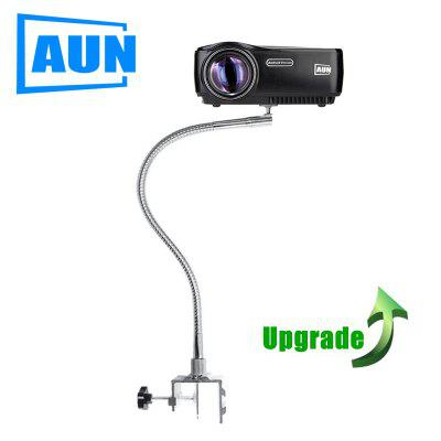 AUN bendable 360 angle projector bracket bend tube length 60CM Withstand less than 2KG for C80