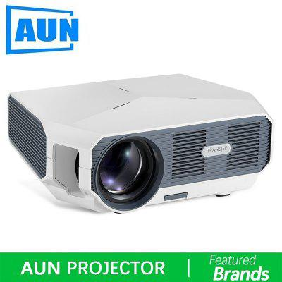 AUN LED Projector ET10 Optional Mirroring Android WIFI Projector Support 1080P Video 3D MINI beamer