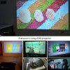 AUN LED Projector AM01 Home Theatre Optional Android Version with WiFi Bluetooth Support AC3 Video