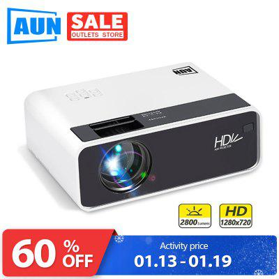 AUN MINI Projector D60S 1280x720P Android WIFI Bluetooth LED Proyector for 1080P Home Cinema
