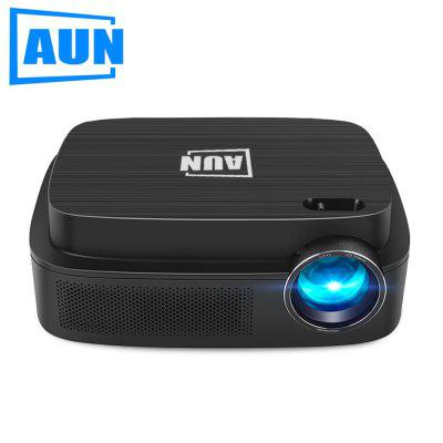 AUN AKEY3 720P Projector Basic and Andriod Version Support 1080P Single LCD Projection Technology