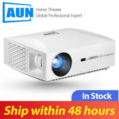 AUN Full HD 1080P Projector F30UP Android 6.0 LED MINI Projector for Home Cinema
