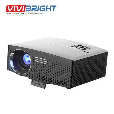 VIVIBRIGHT GP80 LED 1800 Lumens Projector Optional Android 6.0.1  for TV LED Home Theater