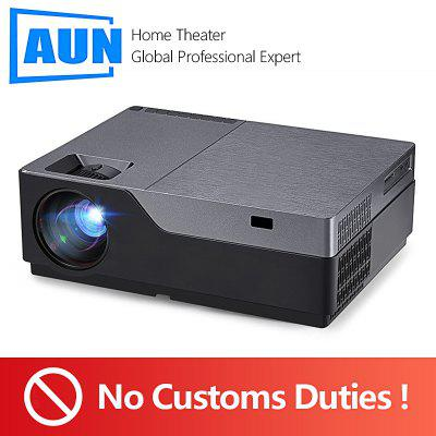AUN Projector M18 M18UP 1080p Full HD No Customs Duties For EU Countries Optional Android Version