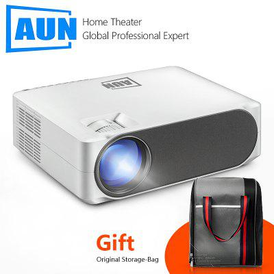 AUN Full HD Projetor 1920x1080 P AC3 Decodificação LED MINI Projetor Para Home Cinema AKEY6