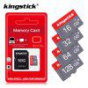 Kingstick TF Cards Class 10 Memory Card 8GB Up to 256GB Optional Micro SD Card with Free Adapter