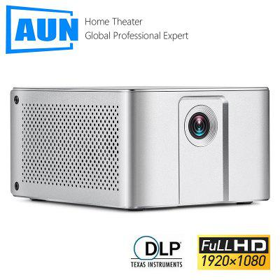 AUN Full HD 1080P Projector J20 Android WIFI 10000mAH Battery Portable DLP Projector Support 4K 3D