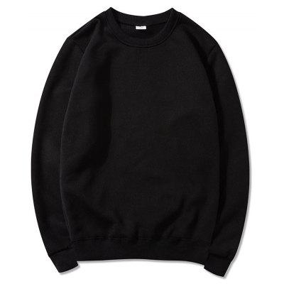 2019 Round Neck Pullover Sweater Solid Color Long Sleeve Jacket men and women couple sweater