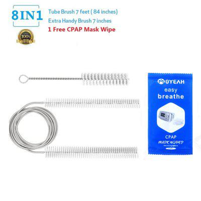 CPAP Cleaner Sanitizer Flexible CPAP Mask Hose Cleanning Brush Kit for Standard 22mm and 19mm Tubing