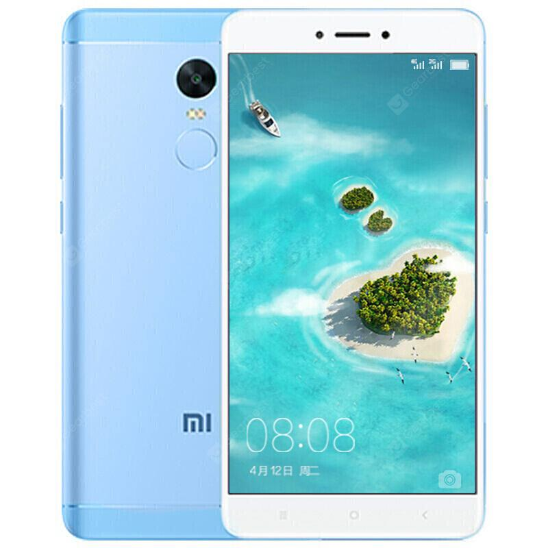 Xiaomi Redmi Note 4X 4G Phablet International Version 64GB ROM Fingerprint Sensor - Light Sky Blue Hong Kong