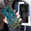 LEEHUR Marbled Glass Case for OnePlus 7