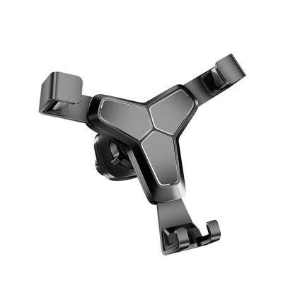 LEEHUR Metal ABS Universal Gravity Car Holder Stand Bracket for Mobile Phone