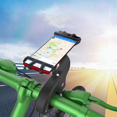 LEEHUR Silicone Bike Phone Holder Stand Bracket Support for Mobile Phone