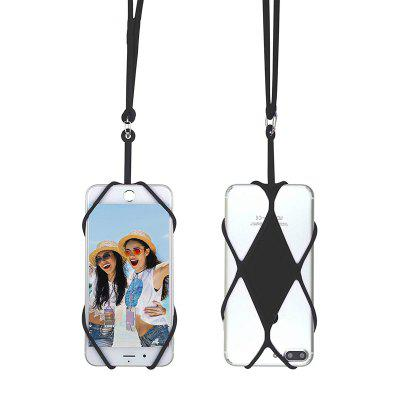 Universal Silicone Cell Phone Lanyard Holder Case Cover for xiaomi ipone samsung