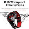 LEEHUR Men Smart Watch IP68 Waterproof Sport Bluetooth Intelligent Watch Wristband