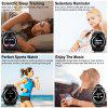 LEEHUR V8 Bluetooth Smart Watch Band Ekran dotykowy Opaska sportowa Smartwatch