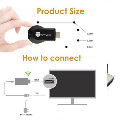 The $9.99 LEEHUR WiFi TV Stick Makes Your Smartphone/Tablet Screen Big for Enjoying Watching Videos and Playing Games!