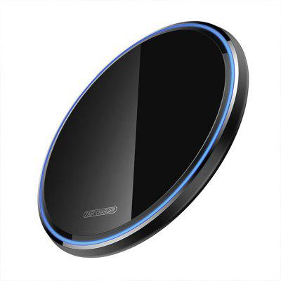 LEEHUR Acrylic 10W QI Wireless Charger Fast Charging Phone Charger Pad for IPhone 11 Pro Xiaomi