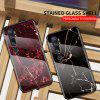 LEEHUR Marbled Glass Case for Xiaomi CC9pro And Xiaomi Mi note