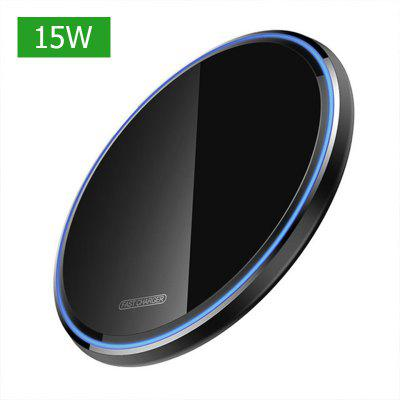 LEEHUR Qi Wireless Charger Pad 15w Quick Charger 3.0 USB PD Charger Mobile Phone Charger for xiaomi