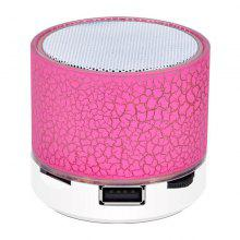 LEEHUR LED Mini Wireless Bluetooth-Lautsprecher Wireless-Lautsprecher Lautsprecher Stereo Support TF-Karte