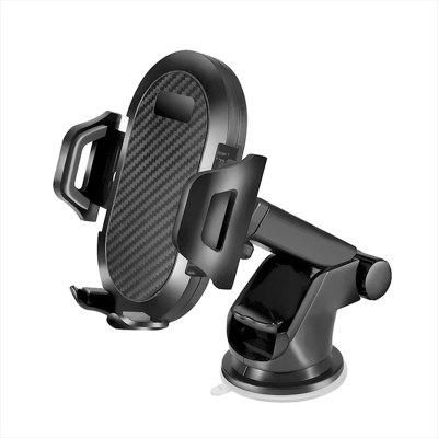 LEEHUR Sucker Car Phone Holder In Car Clip Air Vent Mount No Magnetic Mobile Smartphone Car Stand