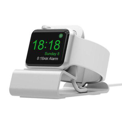 Leehur Aluminum Silicon Bracket Charger Dock Station Charging Holder Stand for Apple Watch IWatch