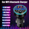 LEEHUR  Car Charger Car MP3 Bluetooth 5.0 player FM Transmitter Wireless Radio Adapter USB Quick Charger 2 USB Ports Music Player