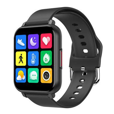 LEEHUR Smart Watch 1.55 inch Full Touch Heart Rate Monitoring Bracelet IP67 Waterproof Built-in Casual Games Exercise SmartWatch