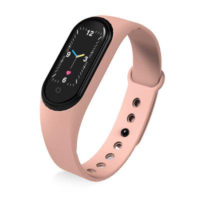 LEEHUR M5 Smart Watch Men Women Heart Rate Monitor Blood Pressure Fitness Tracker Smartwatch Band 5 Sport for IOS Android
