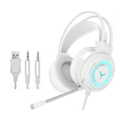 LeeHUR G58 Gaming Wireless Headphone 7.1 USB Wired Headset with microphone 3.5 MM Earphone PC Laptop Game Headphones