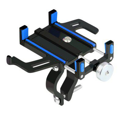 LEEHUR Bike Bicycle Phone Holder for 5.5-9.5cm Smartphone AluminumAlloy Motorcycle iPhone Huawei Support Mount Stand