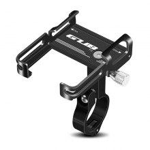 LEEHUR Aluminium Alloy Phone Holder Stand for Bicycle Electric Scooter Bike Support 4-6.7inch Phones