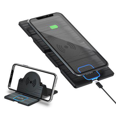 LEEHUR 15W Car Fast QI Wireless Charging Charger Pad for iPhone 11 Pro Max Samsung S10 S9 Plus S20 Huawei Smart Phones