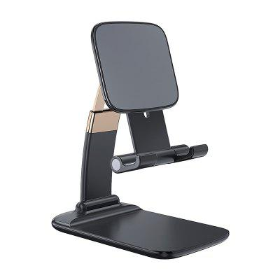 LEEHUR Foldable Desktop Phone Holder Stand Tablet Desk Gravity Bracket for Home Office Meeting